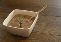 The Great Gobbler Mushroom Soup