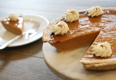 The Great Gobbler Pumpkin Pie